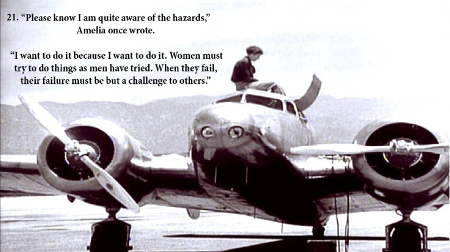 Earhart Photos Quote