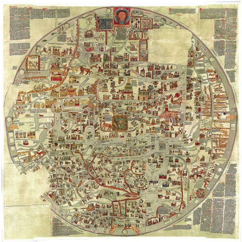 Ebstorfer World Map