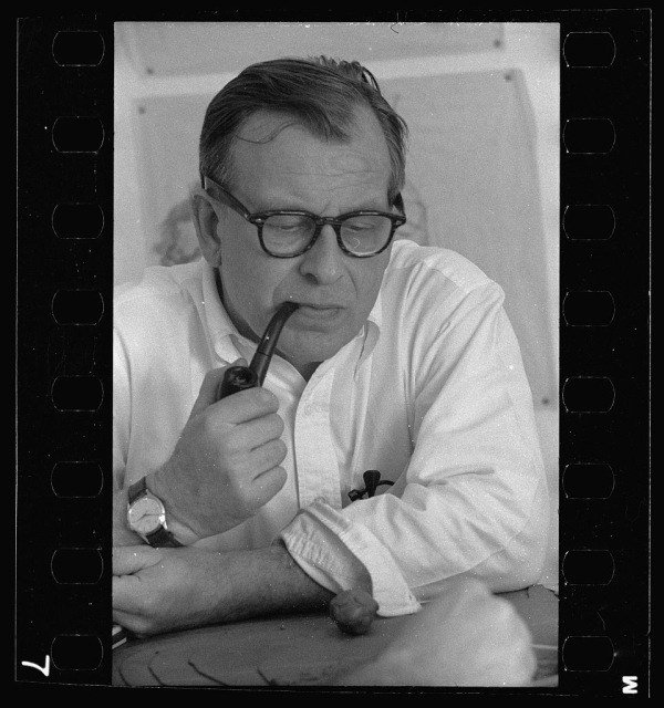 Eero Saarinen Portrait