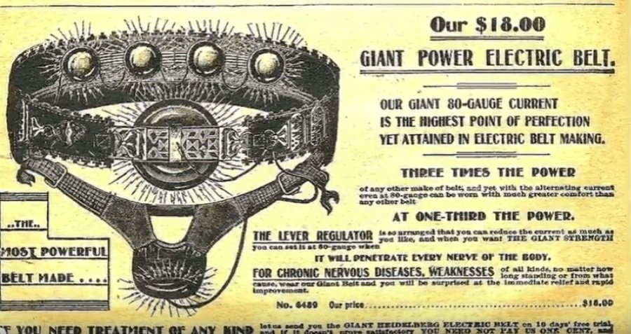 Electric Belt Ad