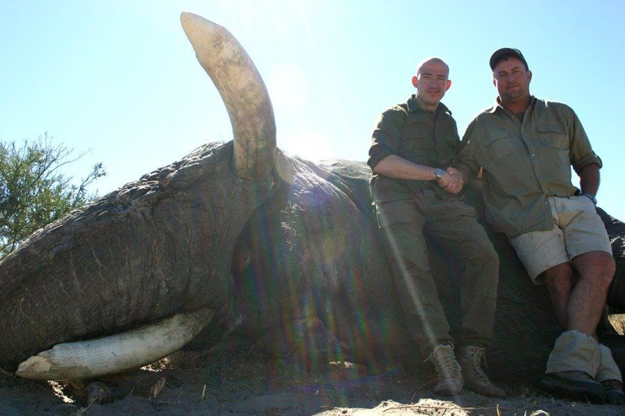 Elephant Kills Theunis Botha