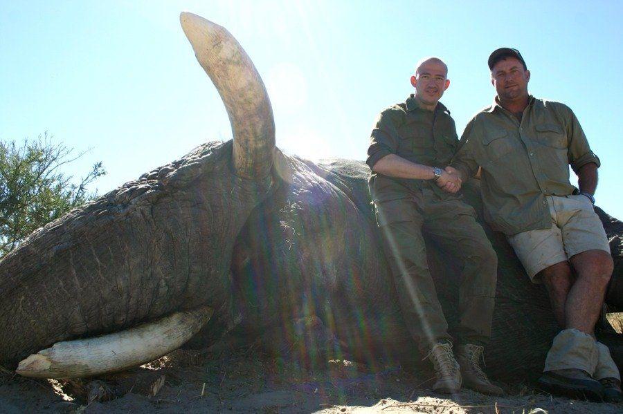 Elephant Kills Hunter