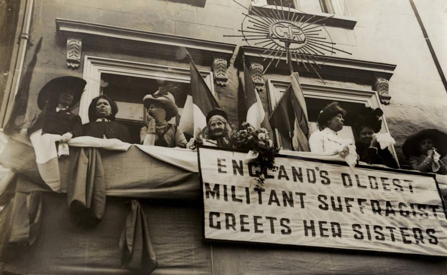Englands Oldest Militant Suffragette