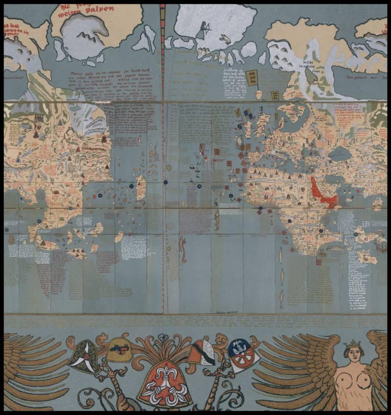 Erdapfel Mercator Projection