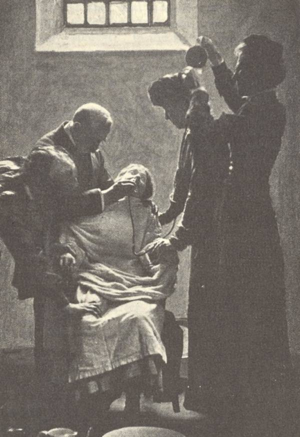Force Feeding A Suffragette