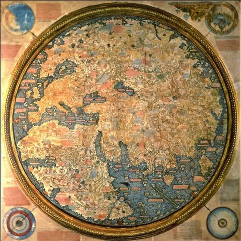 Fra Muro World Map