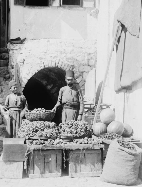 Fruit Vendor Old Jerusalem
