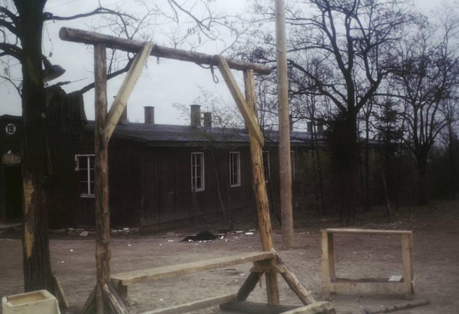 Gallows At Buchenwald