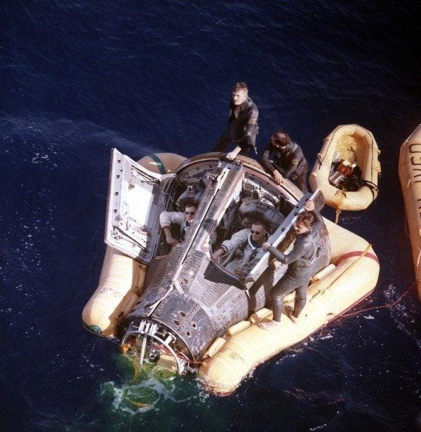 Gemini Eight Landing
