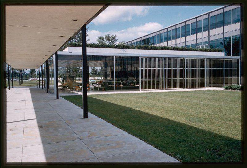 General Motors Technical Center Exterior Detail