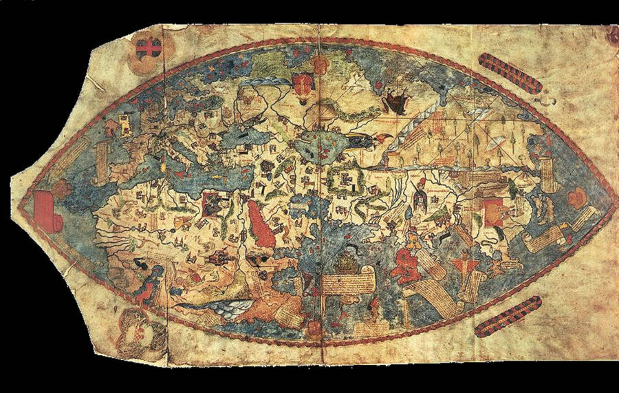 Genoese World Map