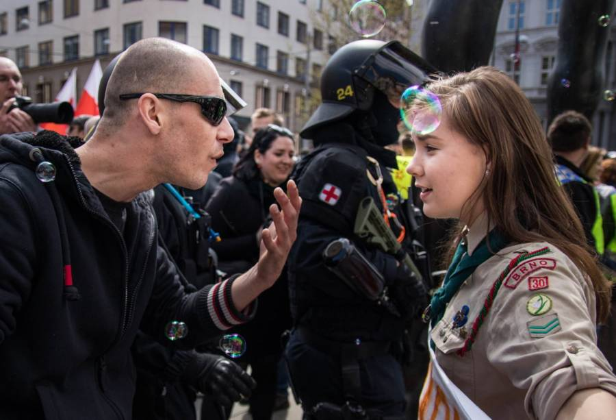 Girl Scout Protests