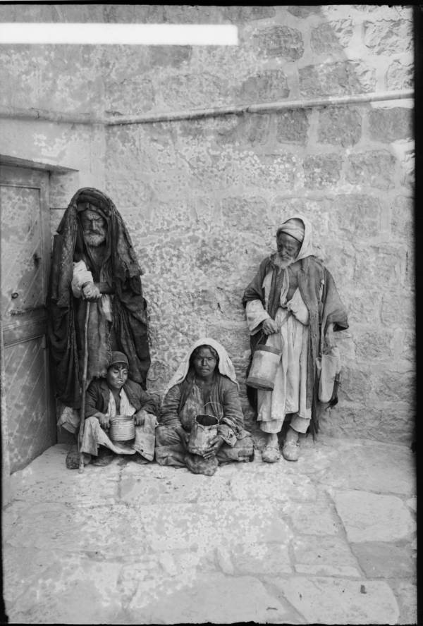 Group Of Beggars