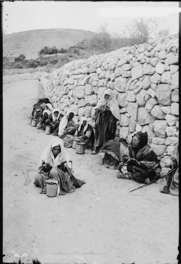 Group Of Lepers