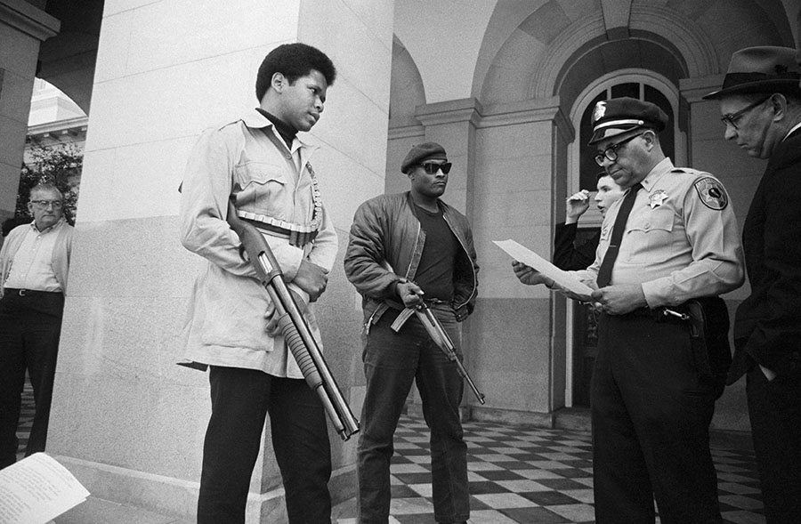 Guns Black Panthers California