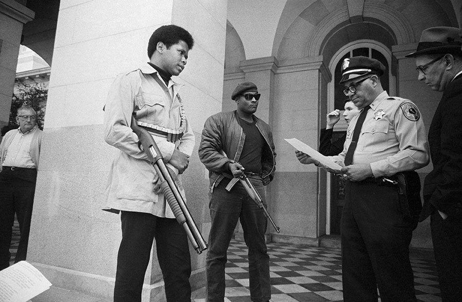 Guns Black Panthers California