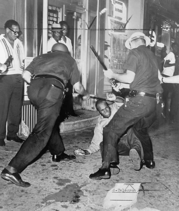 Harlem 1964 Police Street