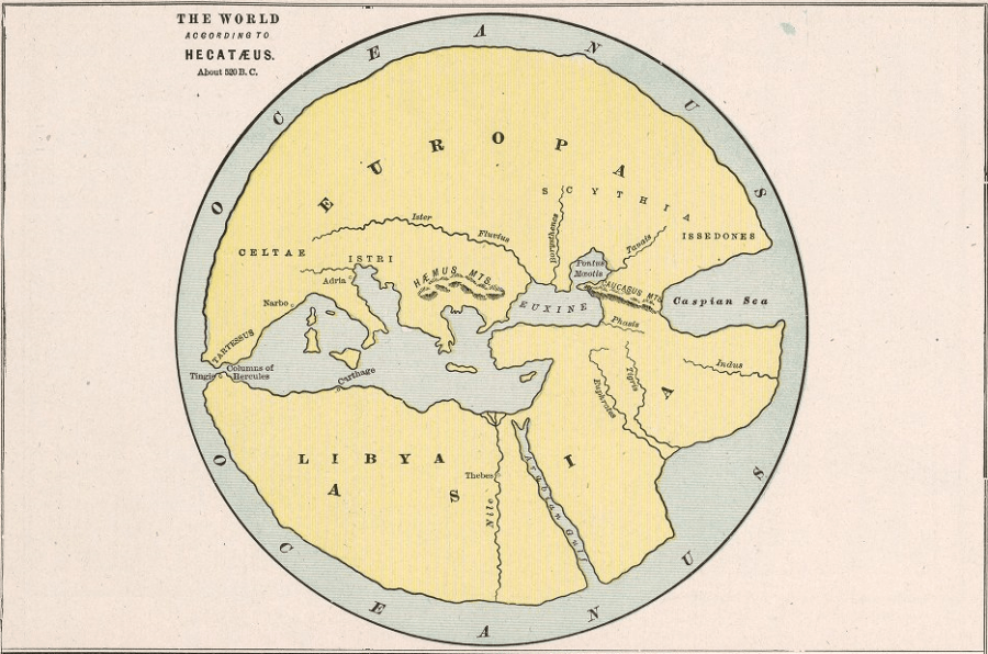 Hecataeus Ancient World Maps