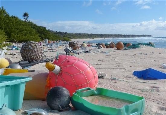 Henderson Island Trash