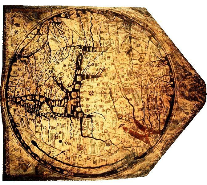Hereford Early World Maps