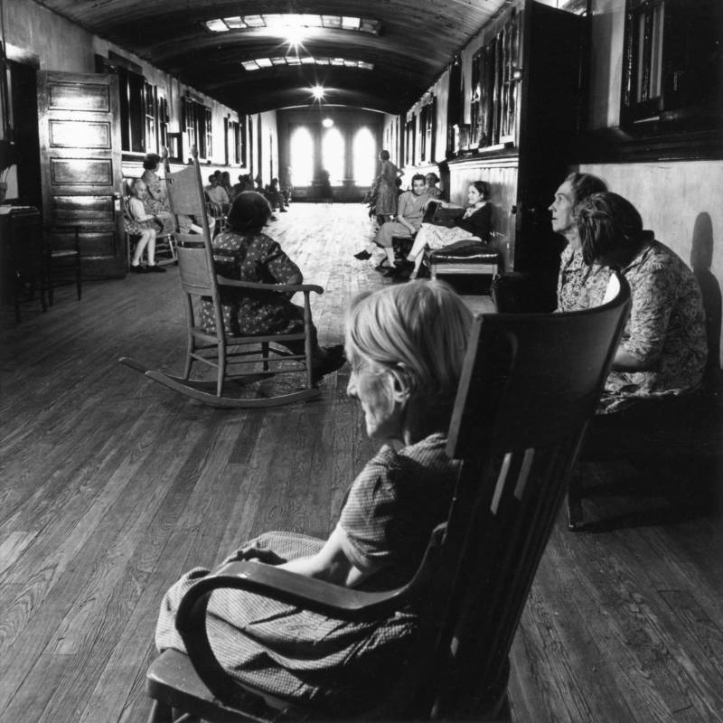In Rocking Chairs