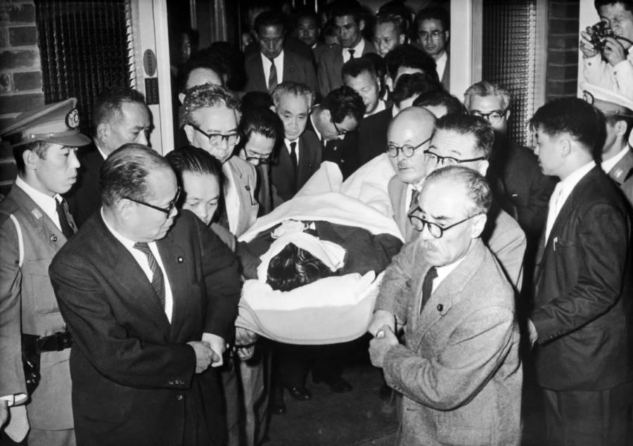 Inejiro Asanuma's Funeral