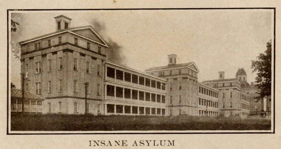 Insane Asylum Postcard