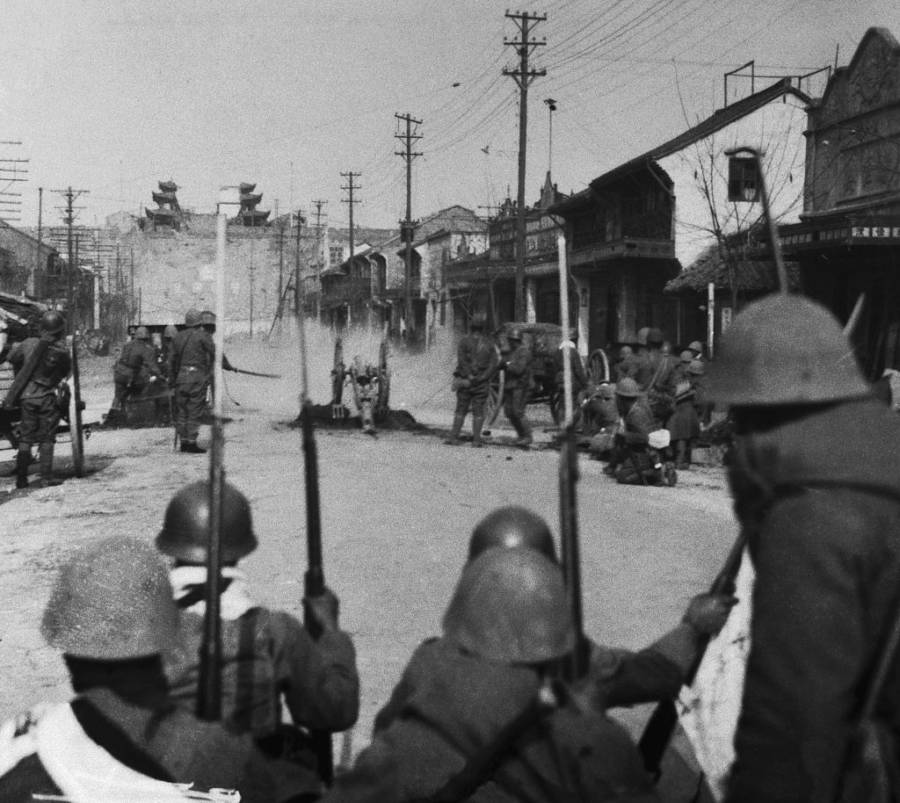 Japanese Invasion Of Nanking