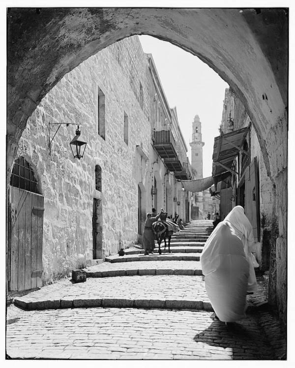 Jerusalem Street Of Arches