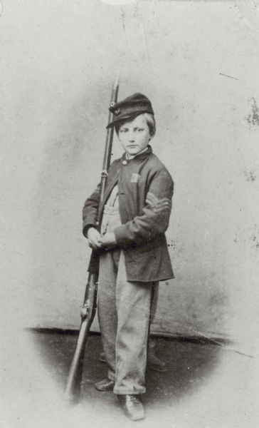 John Clem With Gun