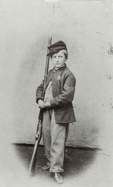 John Clem With Gun