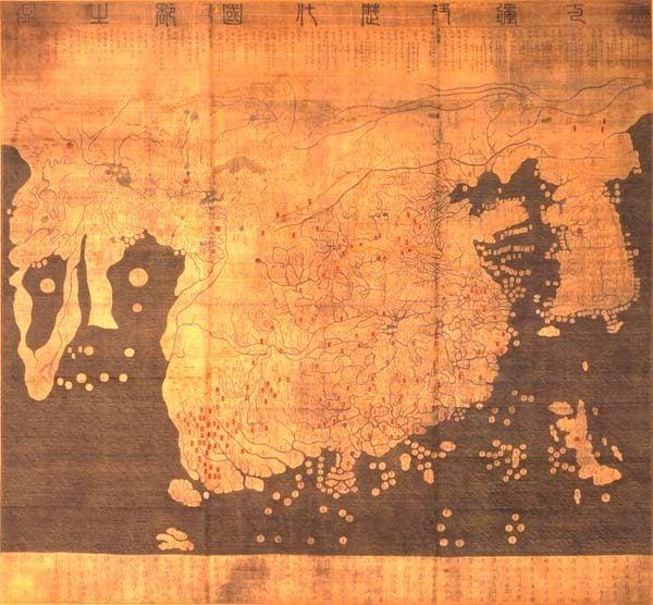 Kangnido Korean World Map