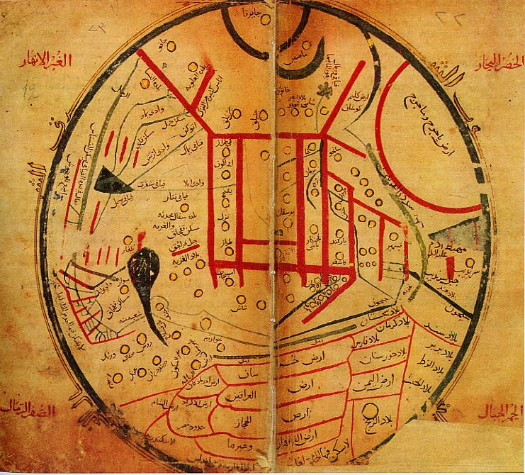 29 ancient world maps so inaccurate theyre downright comical kashgari early world maps gumiabroncs Gallery