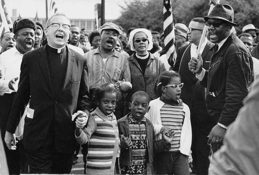 MLK Marching On Selma
