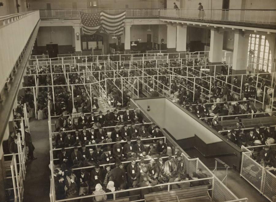 Great Hall At Ellis Island
