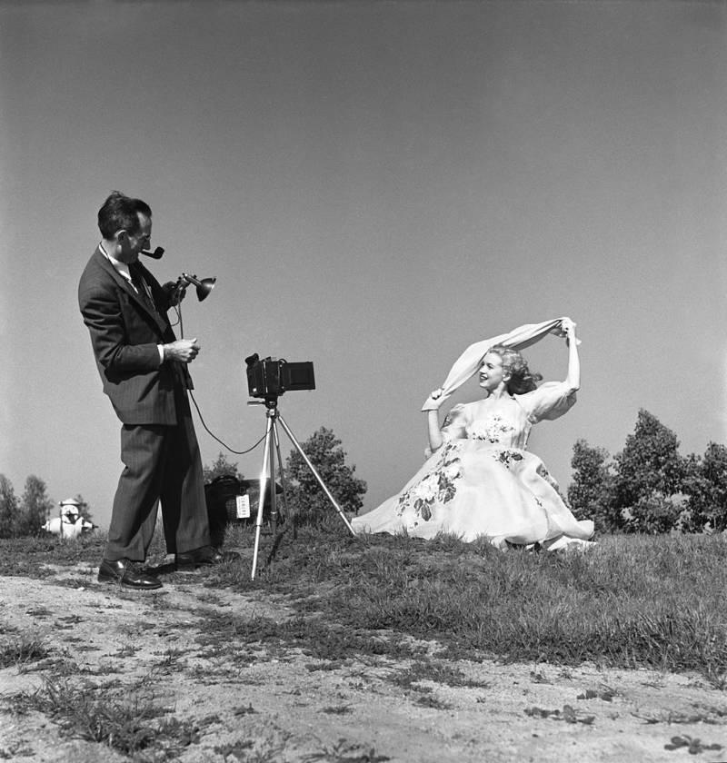Marilyn Monroe Photo Shoot