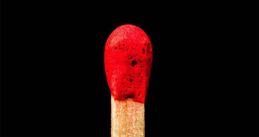 Matchstick head