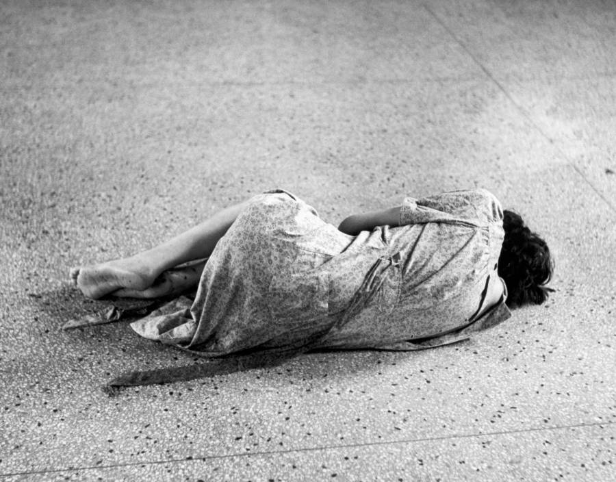 Mental Asylum On Floor
