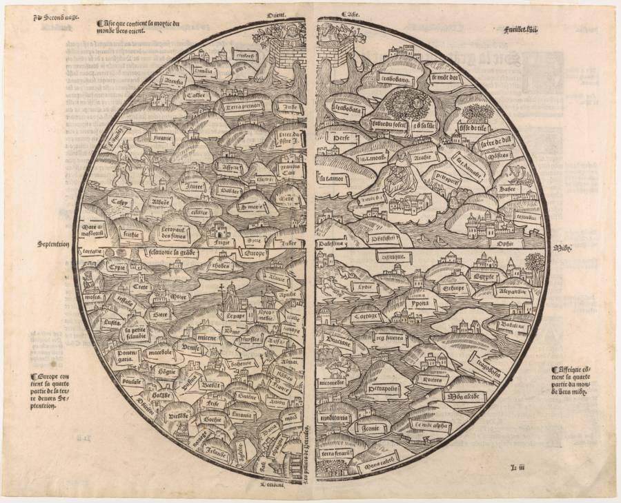 Mer Des Hystoires Map