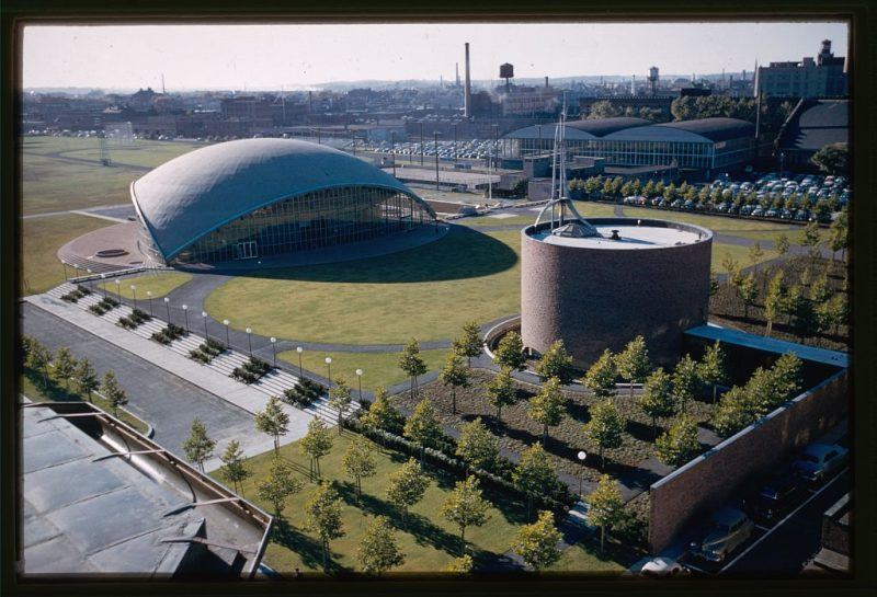 Mit Chapel Aerial View
