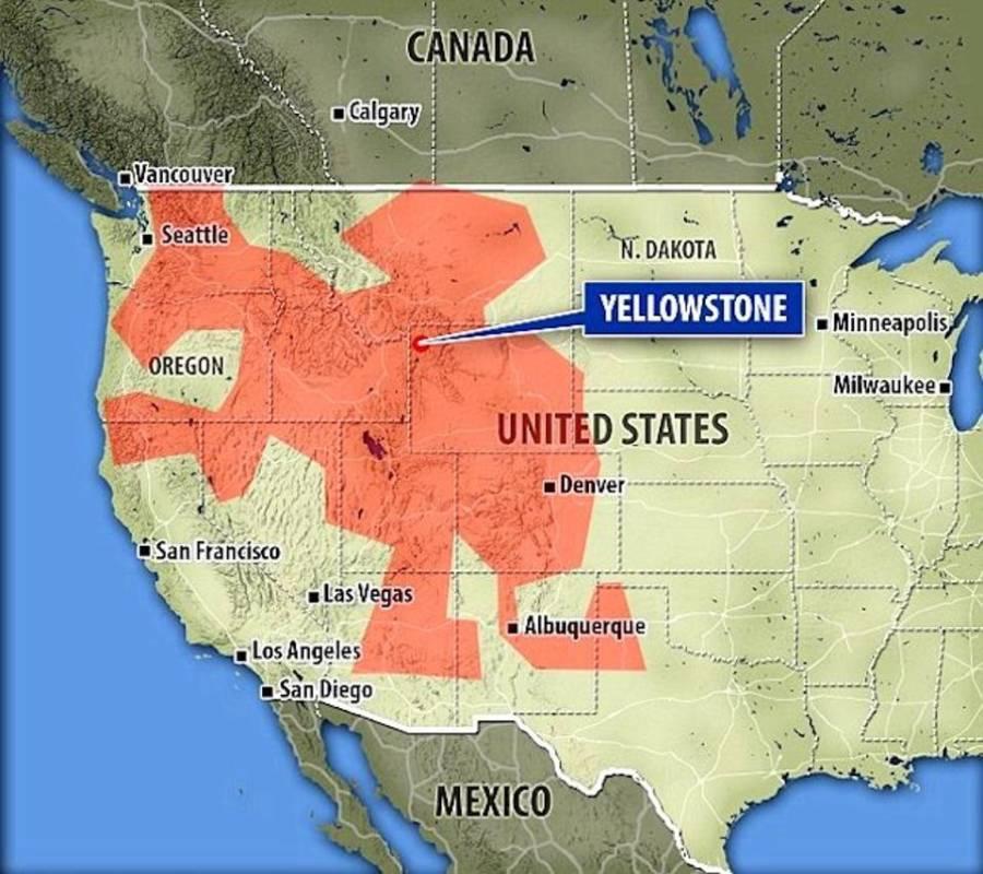 Molten Carbon Lake In America