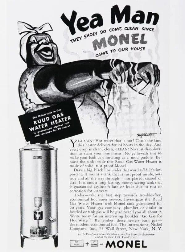 Monel Heater