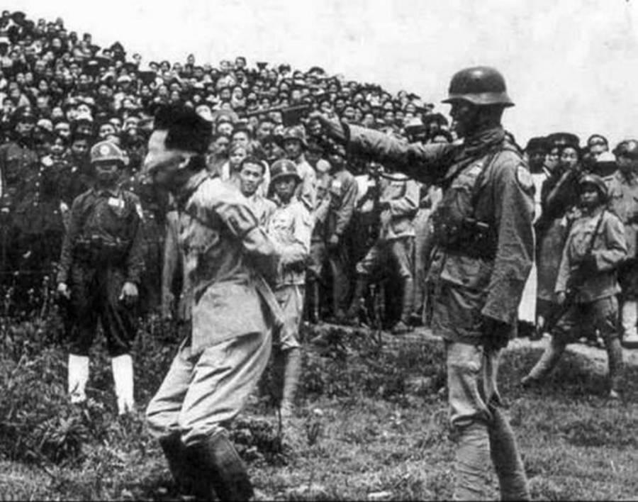 Nanking Massacre Begins