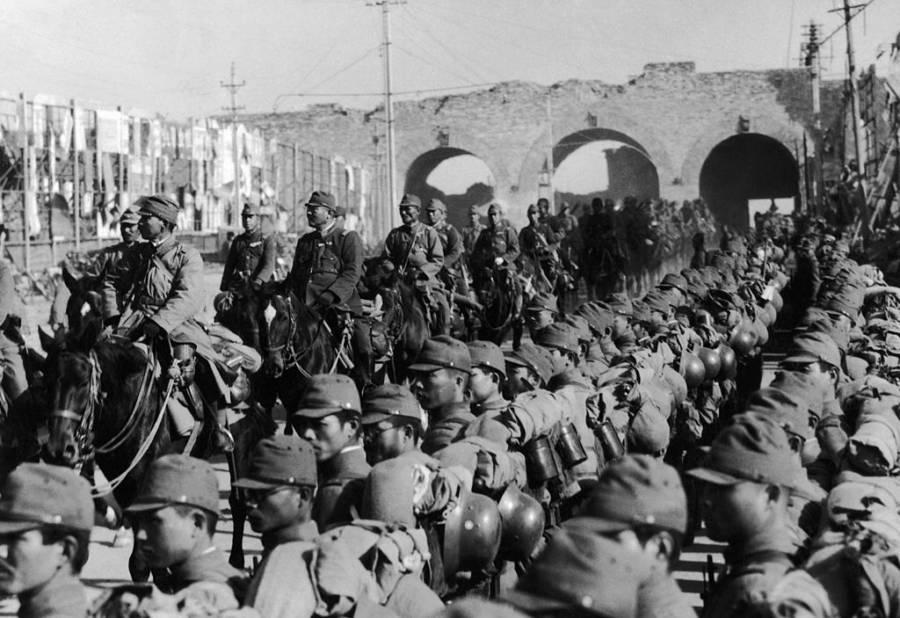 Nazis Enter China