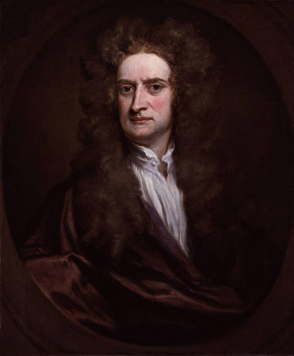Newton Portrait