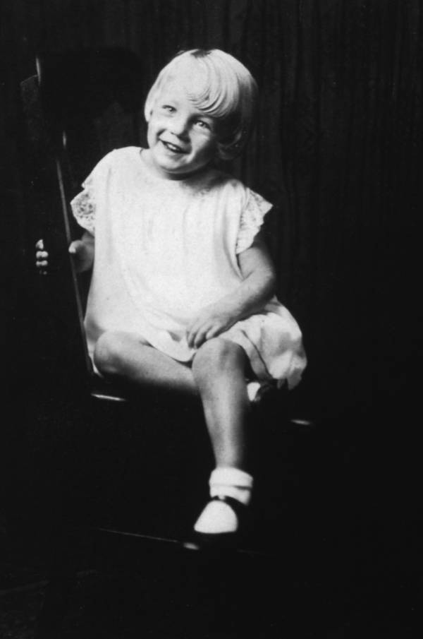 Norma Jeane Age Five