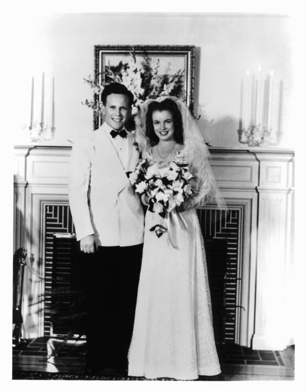 Norma Jeane Wedding Day