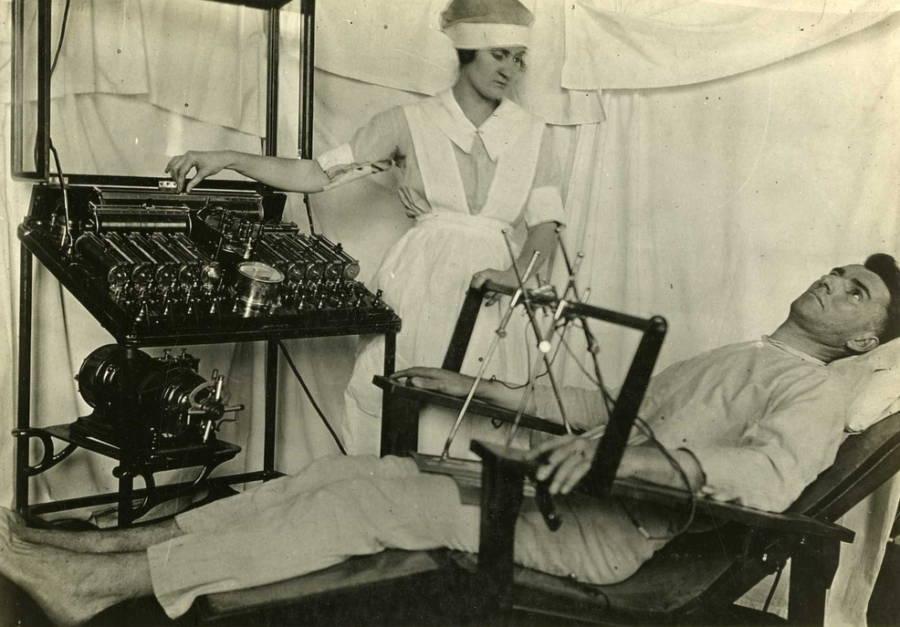 Nurse At Controls