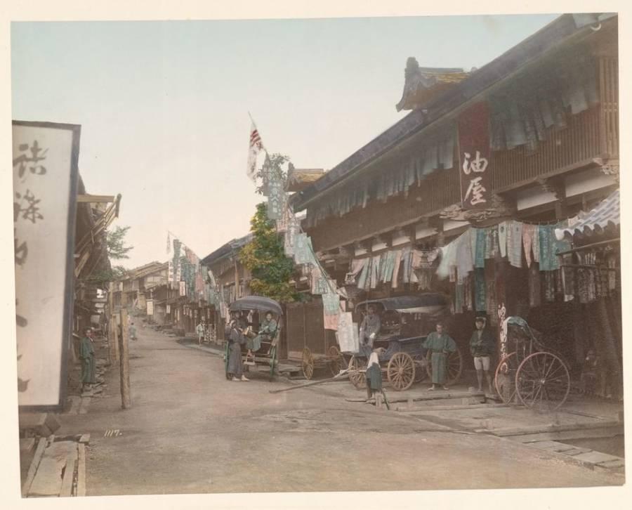 Oiwake Tea House Nakasendo