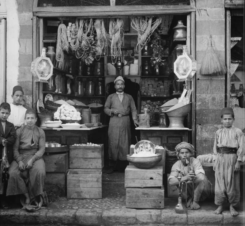 Old Jerusalem Grocers Shop